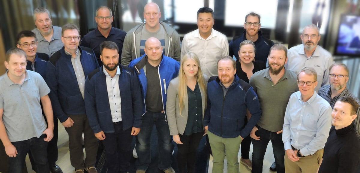 Sabik Marine global sales team 2019