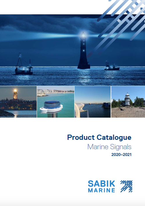 Product Catalogue Marine Signals 2020-2021