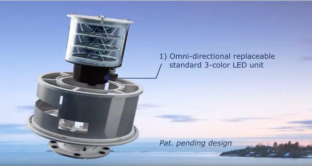 LED Sector light ODSL-200